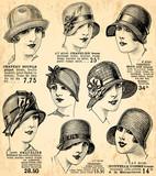 fond chapeaux