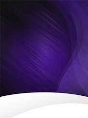 Dark Violet waves background WePresse-TXT