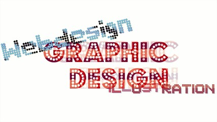 Graphic Design - tag cloud - multimedia