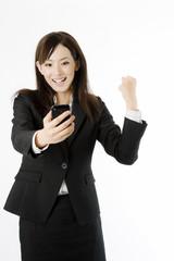スマートフォンとビジネスイメージ