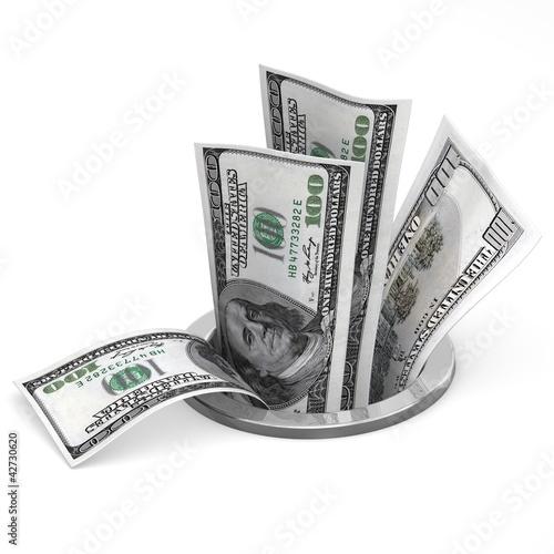 Dollars to drain