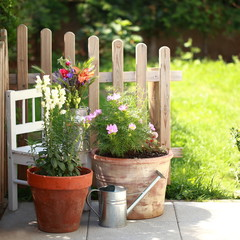 Stil Bauerngarten