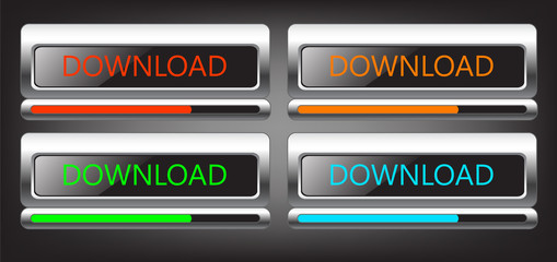 button download, vector