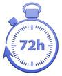 72H Chrono - Bleu