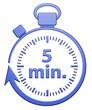 5 Minutes Chrono - Bleu