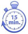 15 Minutes Chrono - Bleu