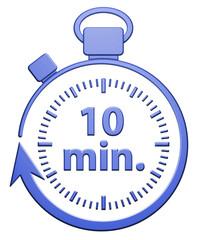 10 Minutes Chrono - Bleu