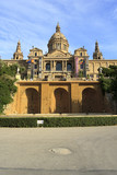 Palace of Montjuic, Barcelona poster