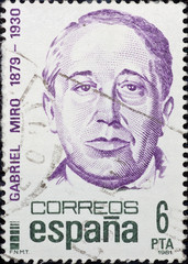 Stamp of Spain