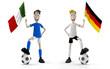 ITALY VS GERMANY
