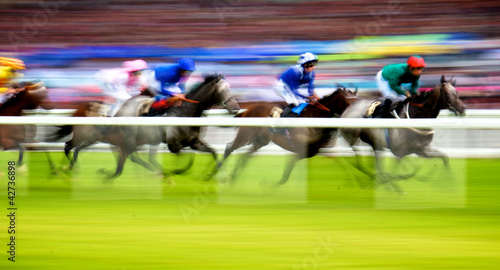 Plexiglas Paardensport Royal Ascot Horse Race