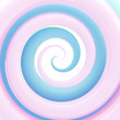 Colorful light blue glossy twirl background