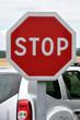 Panneau routier-STOP