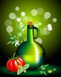 Olio, pomodoro e basilico