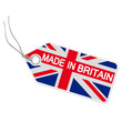 Anhänger mit  MADE IN BRITAIN