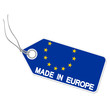 Anhänger mit  MADE IN EUROPE