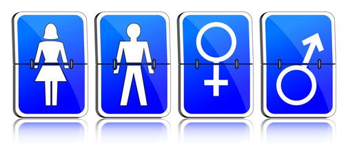 Männlich, weiblich