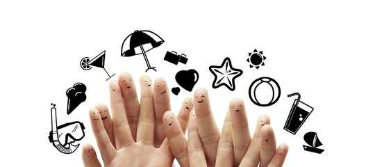 fingers dream summer vacation