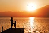 Fototapeta matka - miłość - Woda / Plaża
