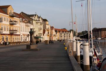 Sonderburg - dänische Stadt