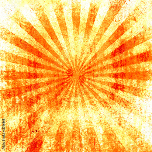 grunge style abstract background with hot summer colors