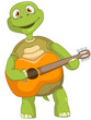 Funny Turtle. Guitarist.