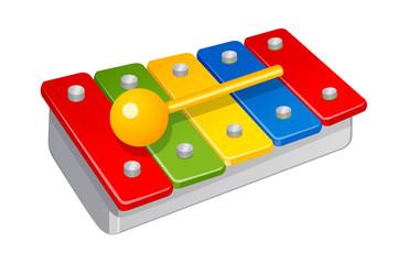 vector icon xylophone