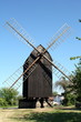 Wind mill of the Danish island Bornholm