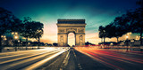 Fototapety Arc de Triomphe Paris France