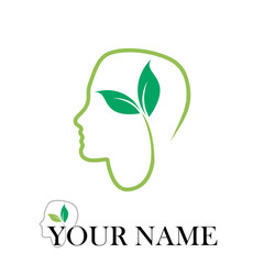 Logo natural Cure # Vector
