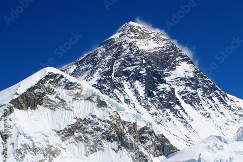 Fotobehang Nepal World's highest mountain, Mt Everest (8850m)