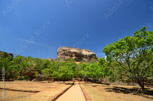 Sigiriya lion rock fortress Sri Lanka