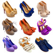 Multicolored female shoes-15