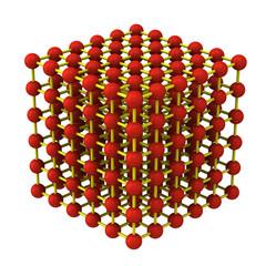 Crystal lattice system 3d