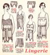 lingerie 1930
