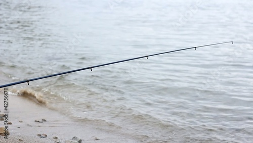 turquoise sea water waves Fishing equipment