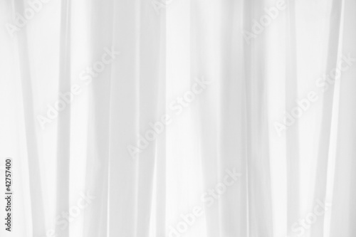 canvas print picture white curtain