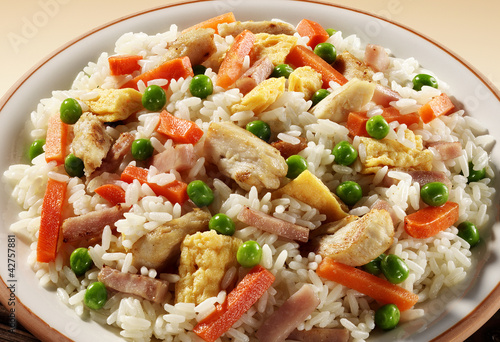 oriental fried rice