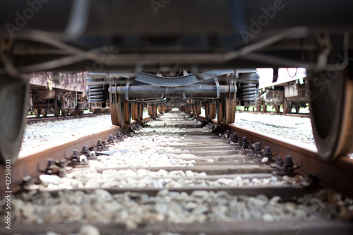 train undercarriage