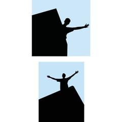 rock-climber man