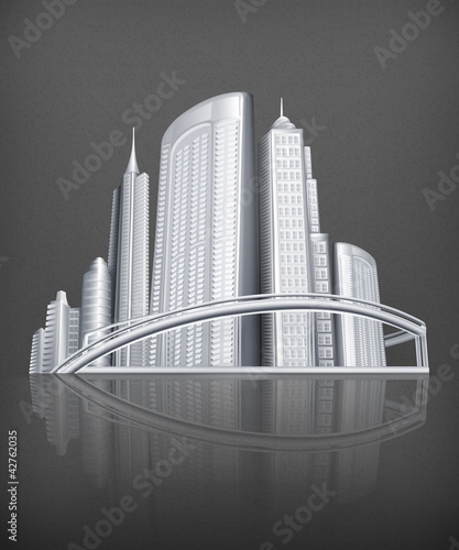 City, vector