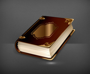 Old book, vector