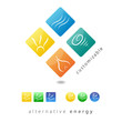 Logo alternative energy