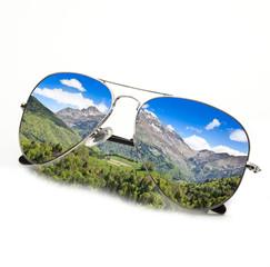 occhiali montagna estiva