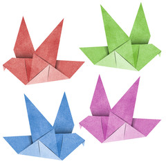 Origami Bird  Recycled Papercraft
