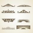 Ornamental Vintage Decoration Header