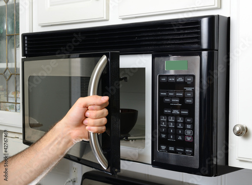 Hand Opening Microwave