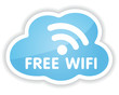Symbol Free WIFI in cloud