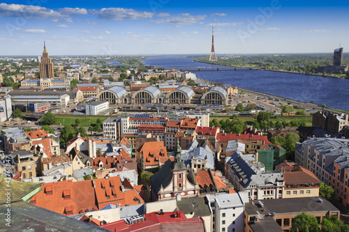 View of Riga skyline