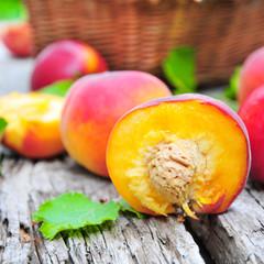 a half peach
